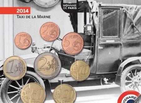 Francia, divisionale FDC per i taxi della Marna