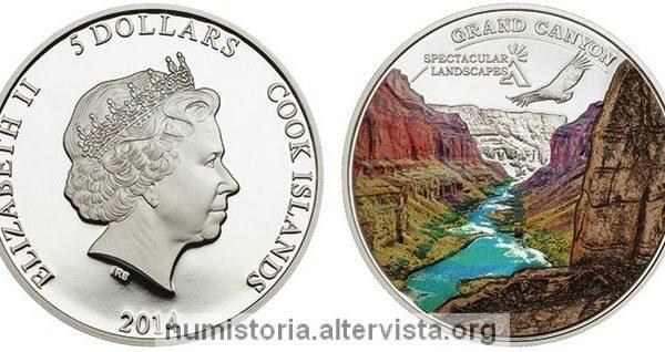 Cook, moneta in argento per il Grand Canyon