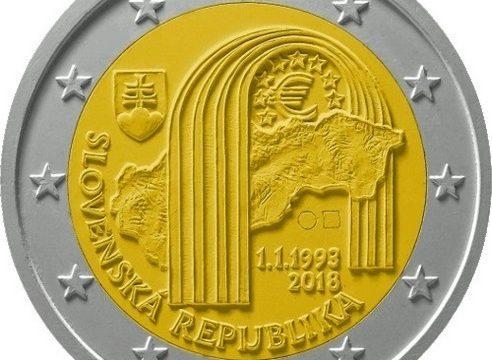 Slovacchia, 2 euro commemorativo 2018