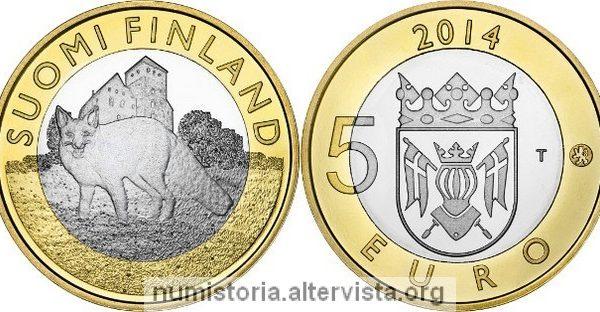 5 euro 2014 per la Finlandia Propria