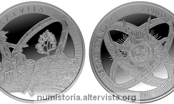 Lettonia, 5 euro per Gothards Fridrihs Stenders