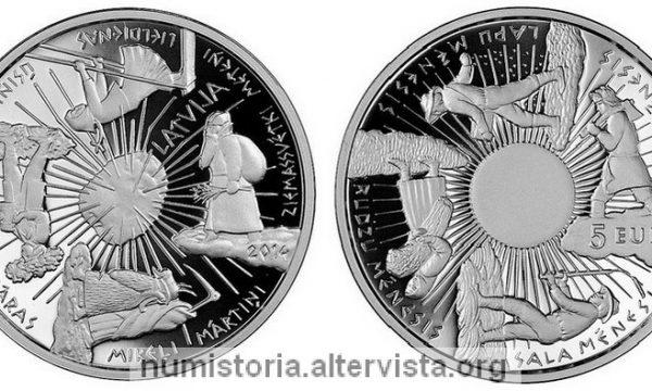 Lettonia, 5 euro per le quattro stagioni