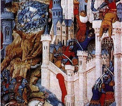 Video sul sacco di Roma del 410 d.C.