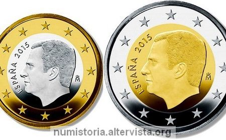 Spagna, tiratura monete ordinarie 2018