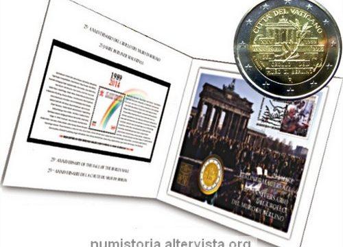 Vaticano, busta filatelico-numismatica 2014