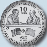Malta, monete per la fine della Guerra Fredda