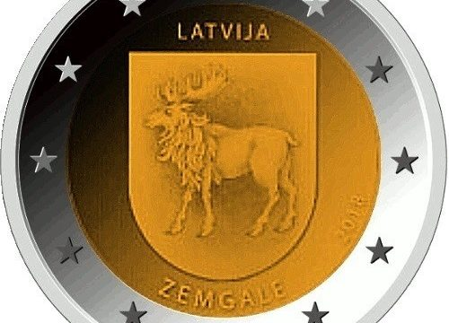 Lettonia, 2 euro commemorativo 2018 per la Semigallia