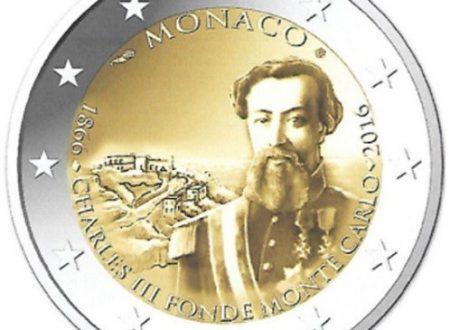 Monaco, programma numismatico 2016
