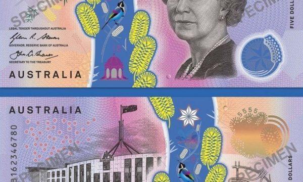Australia, critiche alla nuova banconota da 5 dollari