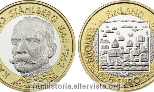 Finlandia, 5 euro 2016 per il presidente Stahlberg