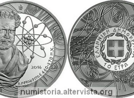 Grecia, due monete per Democrito