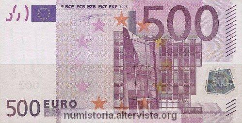 La banconota da 500 euro finirà fuori corso?