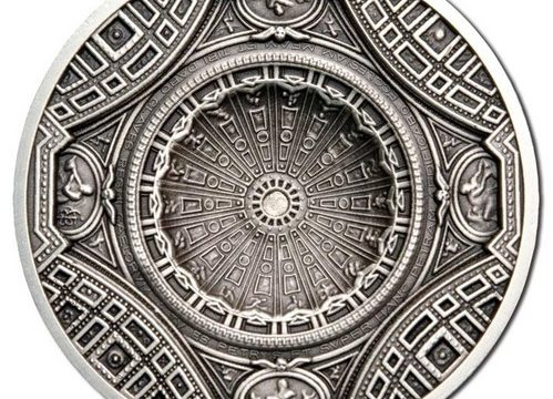 Cook, una moneta per la cupola di San Pietro