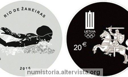 Lituania, 20 euro 2016 per le Olimpiadi