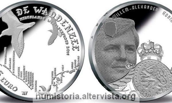 Paesi Bassi, moneta per il mare dei Wadden