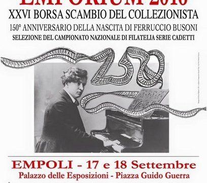 17-18 settembre 2016, convegno a Empoli