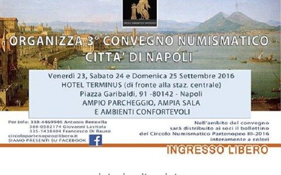 Convegno a Napoli dal 23 al 25 settembre 2016