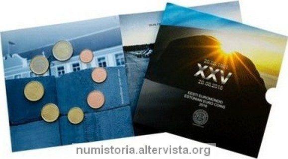 Estonia, serie divisionale FDC 2016 per l'indipendenza