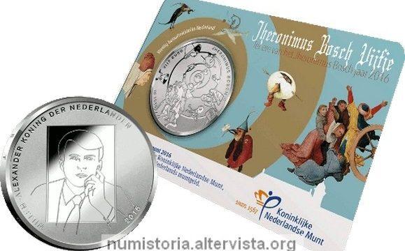Paesi Bassi, una moneta per Hieronymus Bosch
