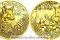 Austria, 100 euro 2016 per la volpe rossa