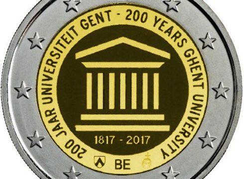 Belgio, ecco i due 2 euro commemorativi del 2017