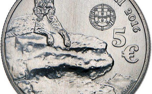 Portogallo, 5 euro 2016 per la lince