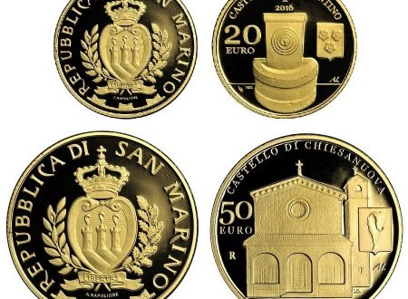 San Marino, 20 e 50 euro 2016 per Fiorentino e Chiesanuova