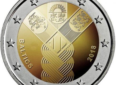 Estonia, Lettonia e Lituania: 2 euro commemorativo comune 2018