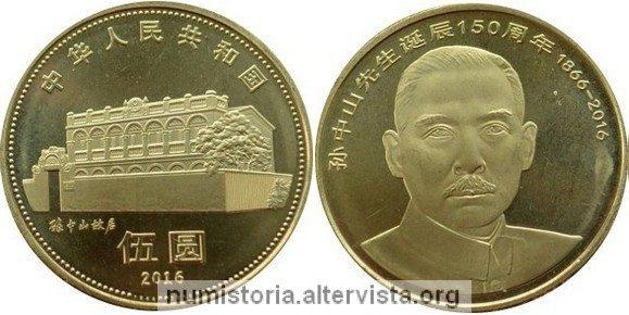 La Cina festeggia i 150 anni di Sun Yat Sen
