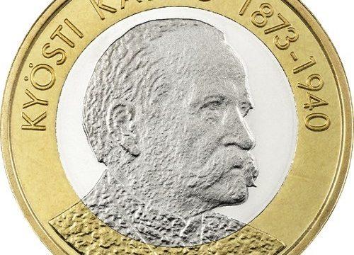 Finlandia, 5 euro 2016 per Kyösti Kallio