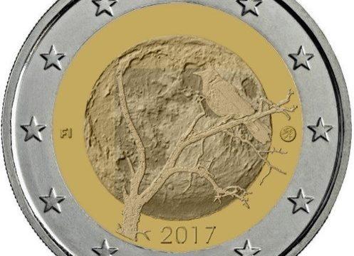 Finlandia, 2 euro commemorativo 2017 per la natura