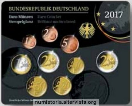 Germania, serie divisionale FDC 2017
