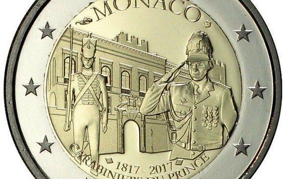 Monaco, 2 euro commemorativo 2017
