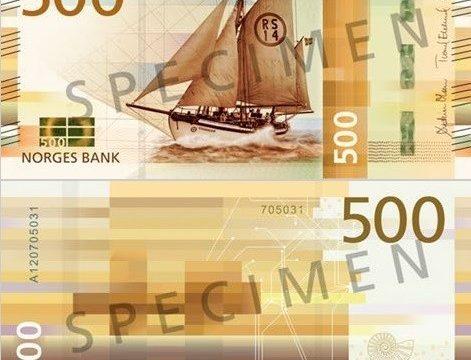 Ecco le nuove banconote norvegesi