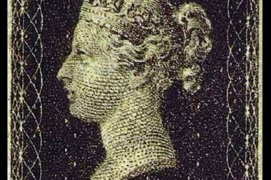 Il Penny Black, primo francobollo della storia