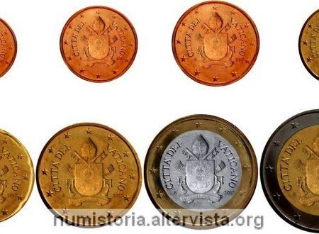 Vaticano, il papa sparisce dalle monete