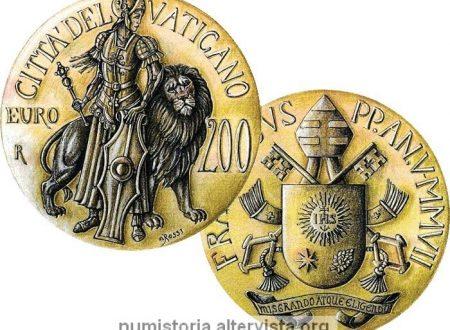 Vaticano, 200 euro in oro per la Forza