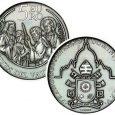 """La moneta vaticana da 5 euro datata 2017 è dedicata alla 50° giornata mondiale della pace, svoltasi il 1° gennaio 2017 e avente per tema """"La nonviolenza: stile di una […]"""