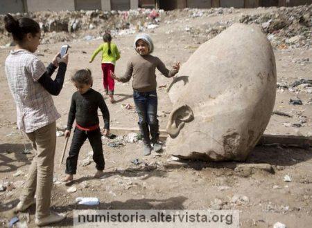 Egitto, scoperta una statua di Ramses II alta otto metri
