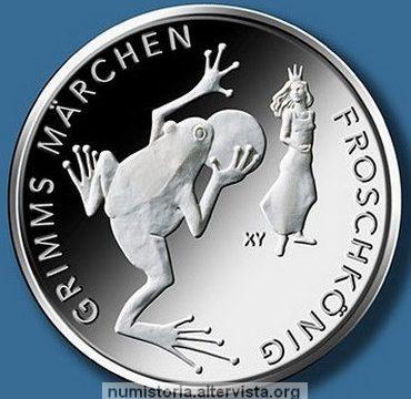 Germania, 20 euro 2018 per il Principe Ranocchio