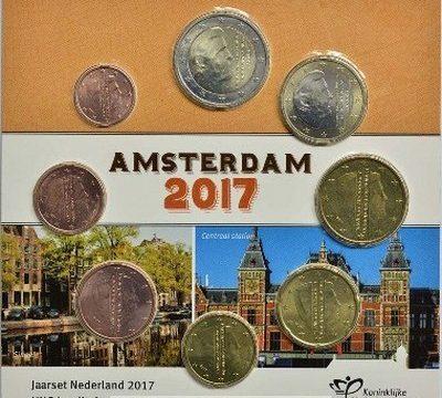 Paesi Bassi, divisionale FDC 2017 per Amsterdam