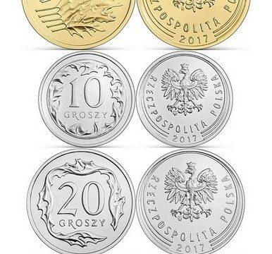 La Polonia rinnova le sue monete ordinarie