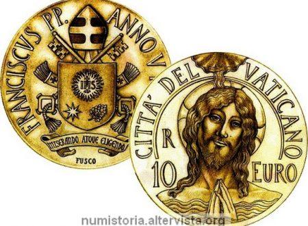 Vaticano, 10 euro 2017 per il Battesimo