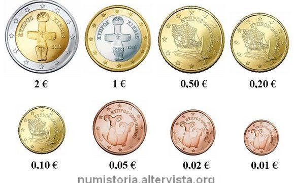 Cipro, tiratura delle monete ordinarie 2018