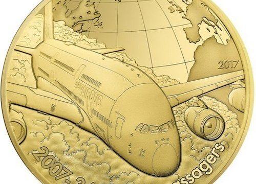 Francia, quattro monete per l'Airbus A380
