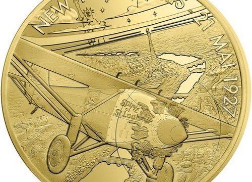 Francia, quattro monete per lo Spirit of St. Louis