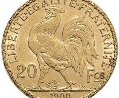 France, 10 et 20 francs Coq en or (1899-1914)