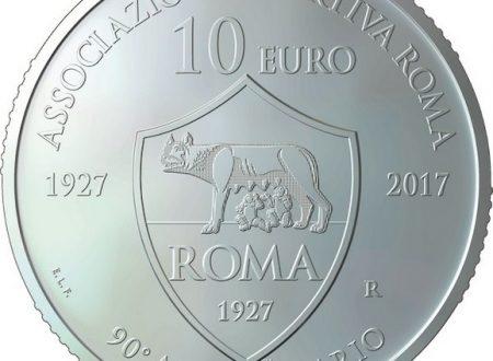 San Marino, 10 euro 2017 per l'AS Roma