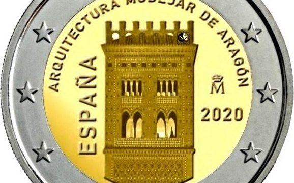 Spagna, 2 euro commemorativo 2020