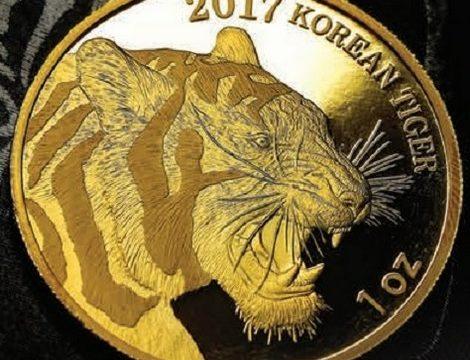 Corea del Sud, una medaglia d'oro per la tigre siberiana